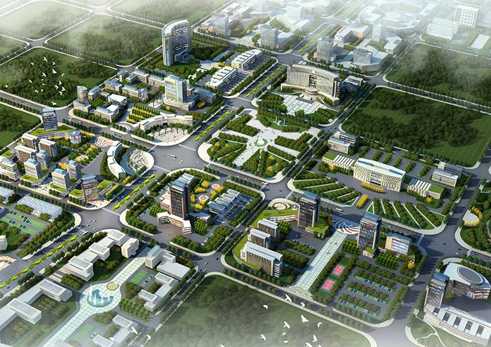 亚搏体育app网站高铁新城沿线用地城市设计