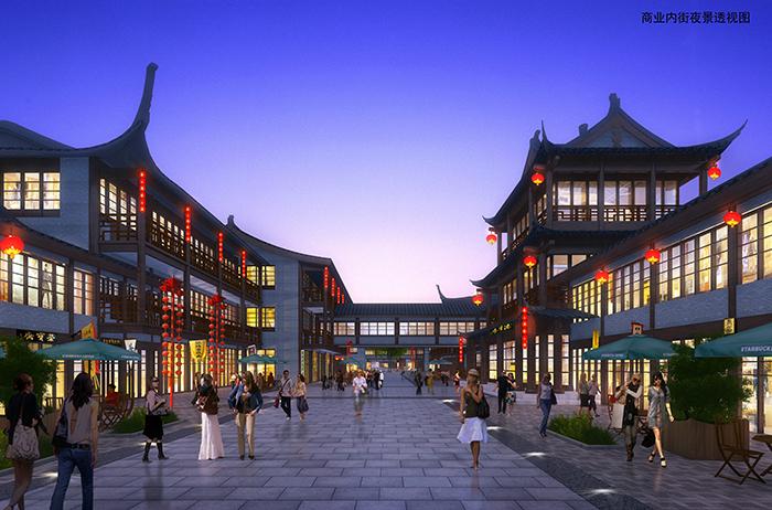 亚搏体育app网站双江秋月景区仿古街专题研究及规划方案